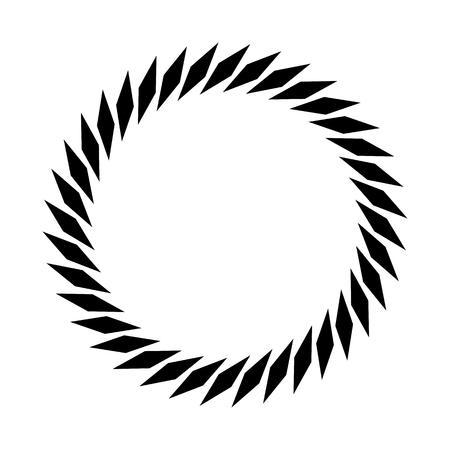 cíclico: Circular geometric motif