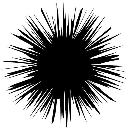 Circular geometric motif