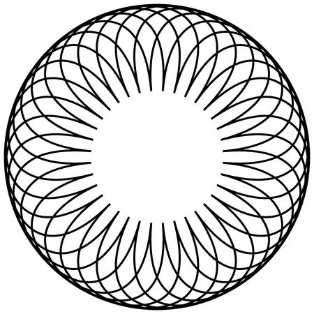 cíclico: Motivo geométrico circular