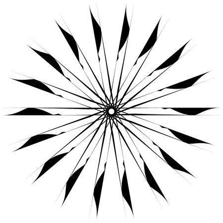 Motivo geométrico circular