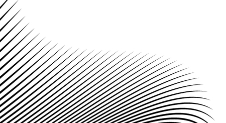 Wavy, billowy, flowing lines abstract pattern. Waving lines texture. Vector illustration.