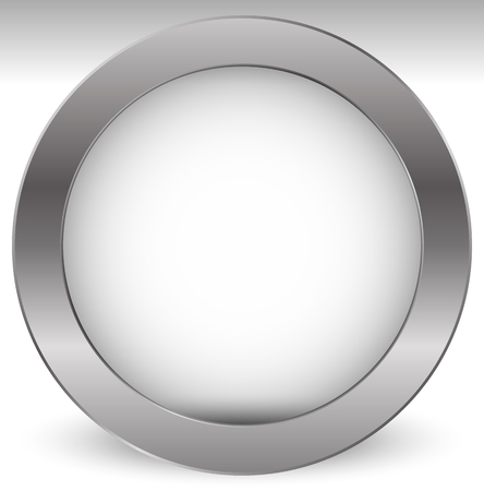 Shaded empty circle with transparent inner part Vetores