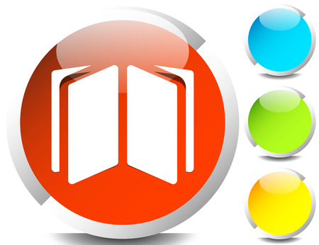 Book symbol icon for knowledge, education and such concepts