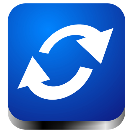 Swap, flip icon. Circular, oval arrows icon