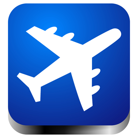 Airplane, airline, aircraft icon. Icon for flight themes 일러스트
