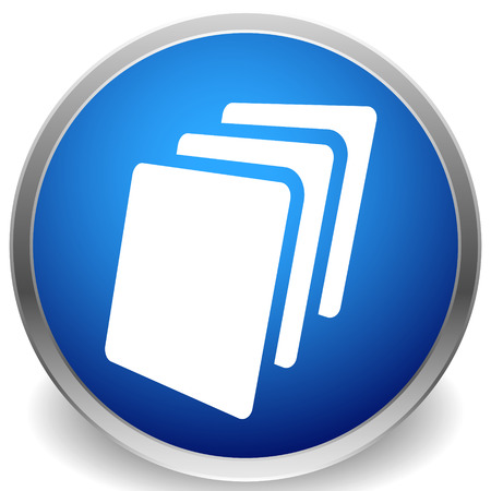 Sheets icon, Sheets of paper or other material Illustration