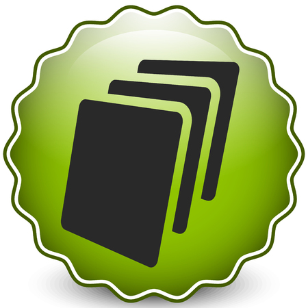 Sheets icon, Sheets of paper or other material Иллюстрация