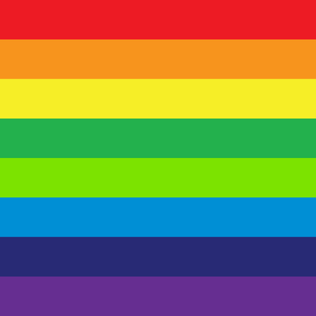 RGB, rainbow spectrum colored stripes, lines. Visible spectrum LGBTQ theme or for generic design Stock Vector - 127566981