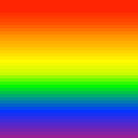 RGB, rainbow spectrum colored stripes, lines. Visible spectrum LGBTQ theme or for generic design Stock Vector - 127566988