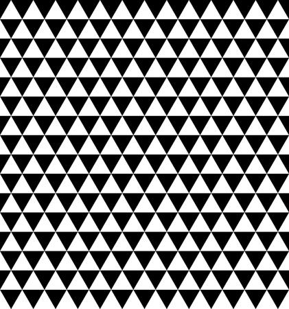 Triangle repeatable seamless geometric pattern Illustration