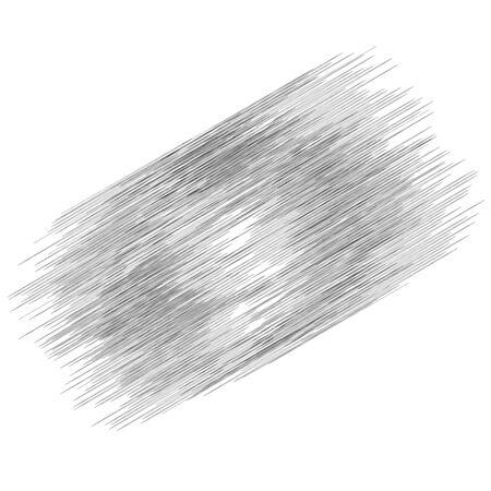 Random edgy lines parallel and intersecting fashion. Random geometric lines
