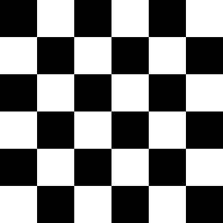 Checkered, chequered seamless pattern. Chess squares repeatable texture. Checkerboard tiles background