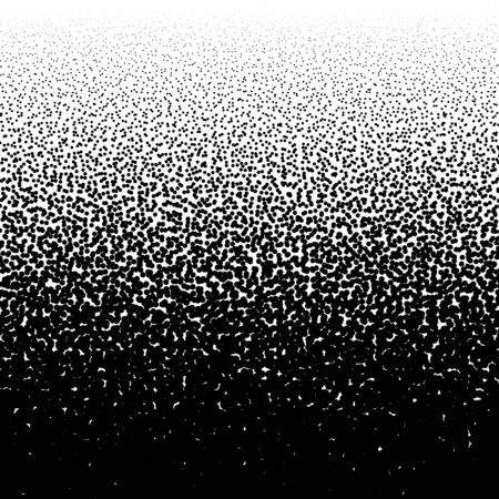 Random circles, dots noise half-tone pattern. Speckles, dotted background. Pointillist, pointillism texture. Scatter, dispersion design. Particles abstract geometric illustration