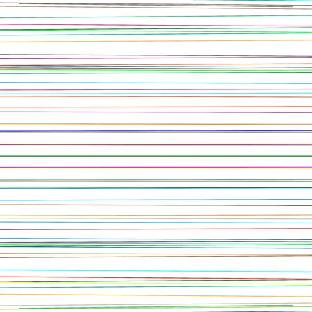 Dynamic colorful parallel lines. Random, scattered straight lines. Horizontal stripes geometric pattern, texture