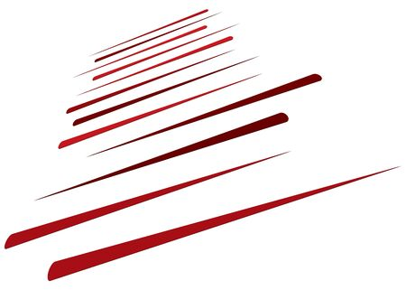 3d lines pattern in perspective. Oblique, slanting stripes. Diminishing parallel, straight skew strips, streaks texture.Asymmetric dynamic lines abstract geometric illustration. Lineal, linear element Vektorgrafik