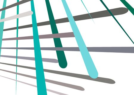 Grid, mesh with dynamic lines. Intersecting stripes. Irregular grating, lattice texture. Interlocking, criss-cross abstract geometric illustration Banco de Imagens - 130044292
