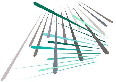Grid, mesh with dynamic lines. Intersecting stripes. Irregular grating, lattice texture. Interlocking, criss-cross abstract geometric illustration Banco de Imagens - 130044505