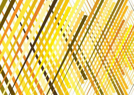 Grid, mesh with dynamic lines. Intersecting stripes. Irregular grating, lattice texture. Interlocking, criss-cross abstract geometric illustration Illustration