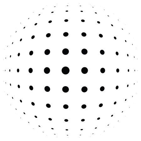 3D circular burst. Convex globe, sphere, orb distort. Inflate design pattern. Radiation, Bulge, Bloat effect. Radial, radiating warp. Bulb, relief protuberant graphics. Abstract dilate, curve textur