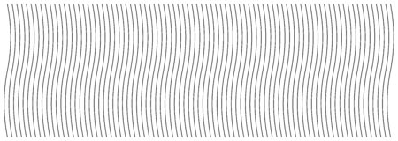Abstract wavy, waving (zigzag) lines element.Vertical lines, stripes with billowy, undulate distortion effect.Curvy, squiggle parallel stripes.Oscillation, pulse warp effect (Wide, rectangle format)