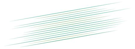 3D Abstract lines. Dynamic straight burst lines in perspective. Radial, radiating stripes. Rapid rays, beams in motion. Action, blast streaks, strips Vektorgrafik