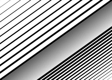 Oblique, diagonal dynamic lines pattern. Straight parallel skew stripes illustration. Slope, asymmetric lineal, linear element.