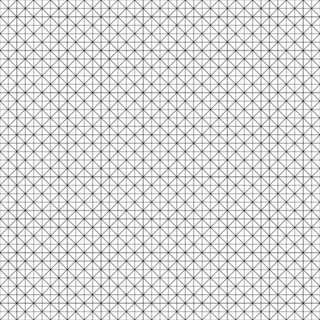 Seamlesly repeatable diagonal, oblique, slanting lines graph paper pattern. Slope, skew grid, mesh. Draft, drawing, plotting paper pattern, texture Иллюстрация