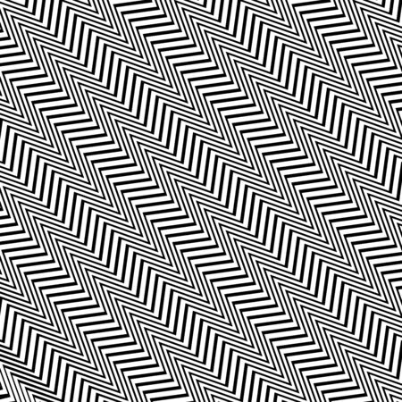 Diagonal, oblique, slanting waving, wavy, zigzag lines. Irregular parallel stripes, lines with wavy, waving distortion, deformation effect. Winding, criss-cross, squiggle, wiggle diagonal, oblique, slanting lines. Curve, curvy, sinuous, billowy square format lines pattern, lines background, lines texture 向量圖像