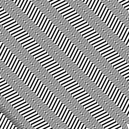 Diagonal, oblique, slanting waving, wavy, zigzag lines. Irregular parallel stripes, lines with wavy, waving distortion, deformation effect. Winding, criss-cross, squiggle, wiggle diagonal, oblique, slanting lines. Curve, curvy, sinuous, billowy square format lines pattern, lines background, lines texture Illusztráció