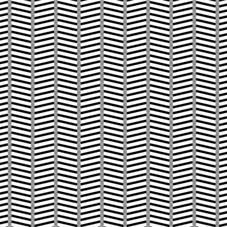 Waving, wavy, zigzag lines. Irregular parallel stripes, lines with wavy, waving distortion, deformation effect. Winding, criss-cross, squiggle, wiggle lines. Curve, curvy, sinuous, billowy square format lines pattern, lines background, lines texture Illustration