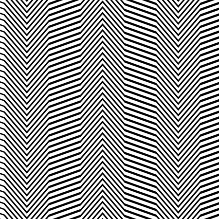 Waving, wavy, zigzag lines. Irregular parallel stripes, lines with wavy, waving distortion, deformation effect. Winding, criss-cross, squiggle, wiggle lines. Curve, curvy, sinuous, billowy square format lines pattern, lines background, lines texture 向量圖像