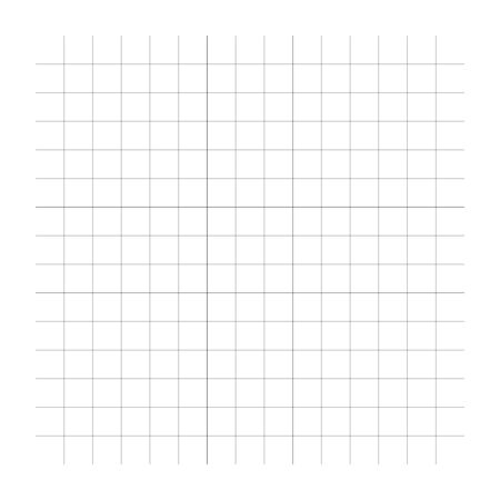 Interlace net of array of interlock lines, stripes. Matrix of criss-cross crossed parallel lines in various density. Squares  grid pattern, square mesh texture. Empty, blank geometric graph paper, millimeter paper (Lines are not expanded)