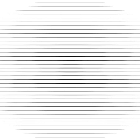 Horizontal straight, parallel lines,  stripes pattern background in square format. Simpe, basic Lines geometric texture
