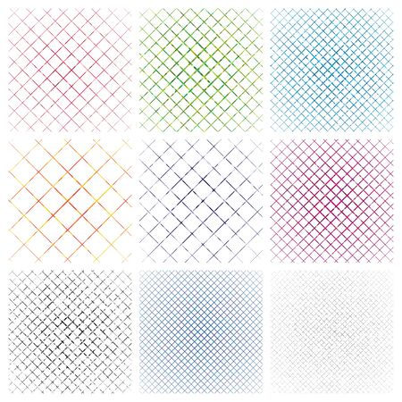 Colored lattice texture. Geometric grid, mesh. Abstract grating, grill lines background, pattern