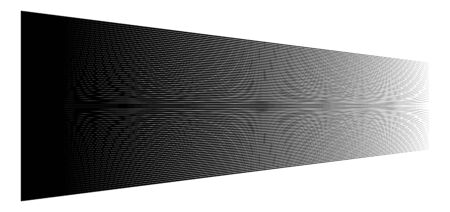 3d lines. Straight parallel stripes in perspective. Strips, streaks vanish, diminish. Horizon oblique, diagonal lines