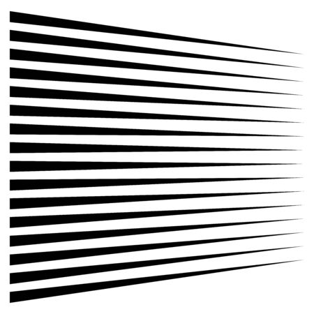 Horizontal lines, stripes. Straight parallel streaks, strips. Edgy pinstripe geometric pattern. Linear, lineal geometric design.