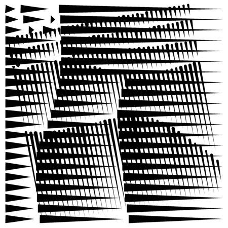 grid, mesh abstract geometric pattern. segmented intersect lines. crossing dynamic stripes texture. random dashed streaks lattice. abstract grating, trellis design Stock fotó - 131303432