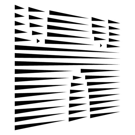 dynamic dashed, segmented lines pattern. irregular stripes. straight parallel streaks, strips design. chunks, pieces, fraction of lines