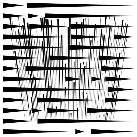 grid, mesh abstract geometric pattern. segmented intersect lines. crossing dynamic stripes texture. random dashed streaks lattice. abstract grating, trellis design Stock fotó - 131303161