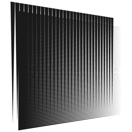 Grid, mesh element. cellular, reticular grate, lattice. array of bisect, overlap lines, stripes. geometric monochrome, black and white element, pattern. Intersect straight, parallel lines, stripes  イラスト・ベクター素材