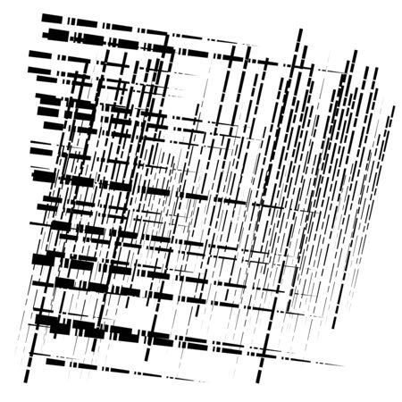 grid, mesh abstract geometric pattern. segmented intersect lines. crossing dynamic stripes texture. random dashed streaks lattice. abstract grating, trellis design Stock fotó - 131311286