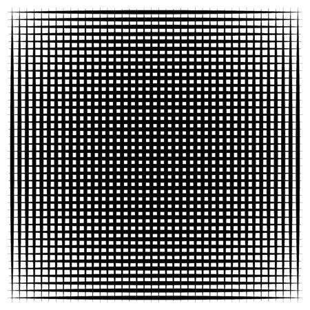 Random lines grid, mesh. Dynamic, irregular overlap, intersect lines, stripes. Jumble, reticulate geometric element. random lines grate, lattice