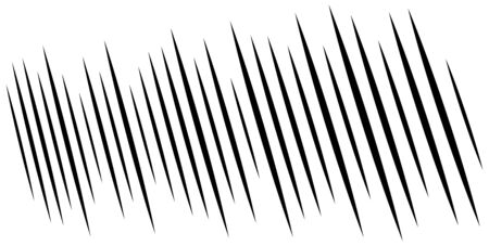 wide format dynamic action lines. random parallel vertical stripes. straight streaks, strips design. linear, lineal pattern. line half-tone element