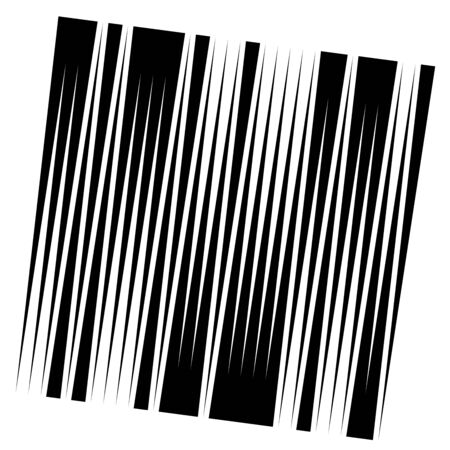 Random, dynamic lines pattern. Vertical, straight parallel lines. Irregular stripes. Streaks, strips uneven lines. Abstract geometric design element.