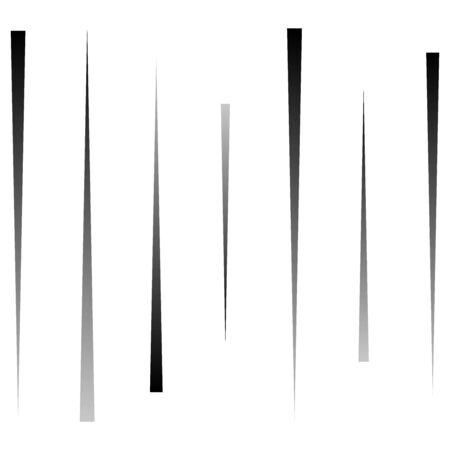 Lignes aléatoires et dynamiques, motif géométrique abstrait à rayures. conception de lignes éclatées vibrantes et vives. choc comique, action, stries d'énergie, bandes