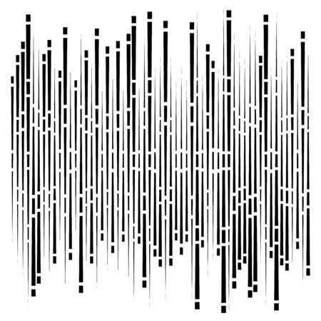 dashed dynamic lines, stripes pattern. random, irregular intermittent streaks design. interrupt vertical, straight parallel stripes texture
