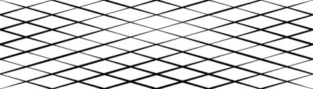 Skew, diagonal, oblique lines grid, mesh.Cellular, interlace background. Interlock, intersect traverse fractal lines.Dynamic bisect stripes abstract geometric pattern.Grating, trellis, lattice texture 向量圖像