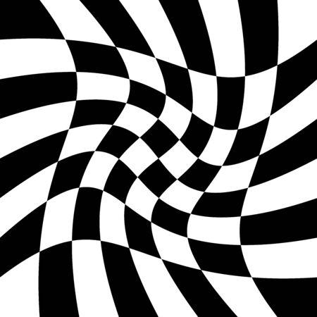 torsion, rotary deform.gyration, revolve element.tweak converging checker, chequered pattern / background. centrifuge, spin whirligig.vortex, whirl, swirl whirlpool background.vertigo, hypnosis op-art