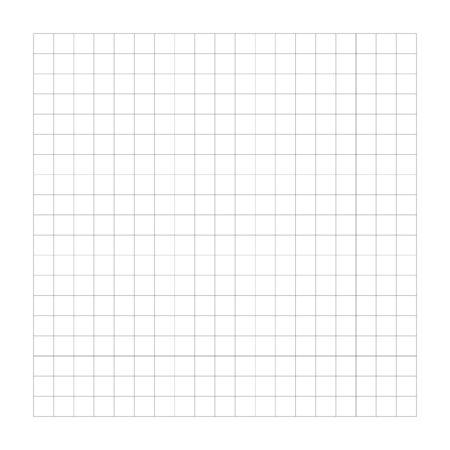 Criss-cross, bisect, crosshatch lines grid, mesh. Regular graph-paper, drafting paper pattern for plotting, measurement. Squared texture. Cellular guidelines, ruler lines. Wire-frame lattice, grating Vektorgrafik