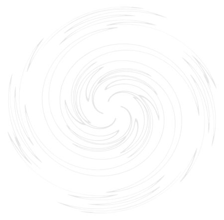 Monochrome volute, vortex shapes. Twisted helix elements. Rotation, spin and twist concept design Reklamní fotografie - 143762059